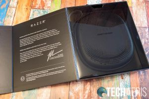 The Razer Opus Wireless ANC Headset packaging