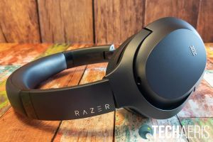 Minimal branding appears on the Razer Opus Wireless ANC Headset