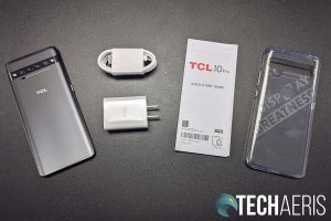 What's included with the TCL 10 Pro Android smartphone