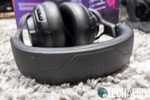 The top of the headband on the JBL Quantum ONE gaming headset