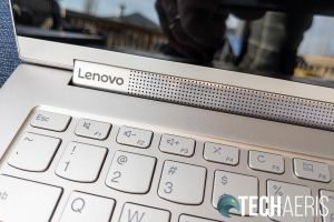The Lenovo Yoga c940 14- and 15-inch laptops have sleek details