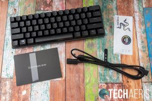 What's included with the Razer Huntsman Mini 60% Optical Gaming Keyboard