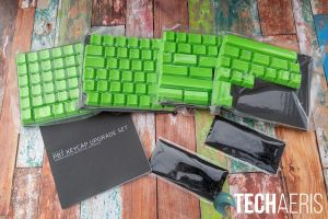 What's included with the Razer PBT Keycap Upgrade Set